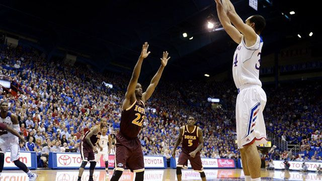 Iona vs. #2 Kansas