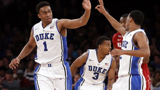 Alabama vs. #6 Duke (Semifinal #2): NIT Season Tip-Off