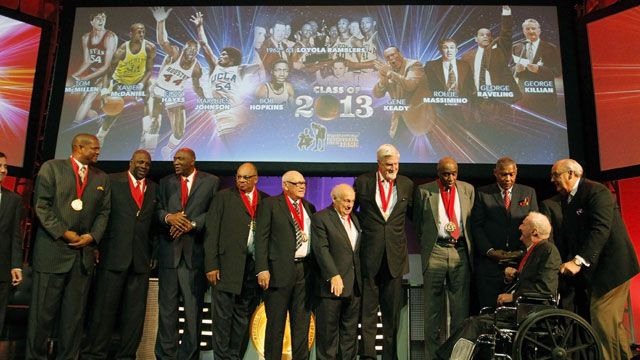 2013 National Collegiate Basketball Hall of Fame Induction