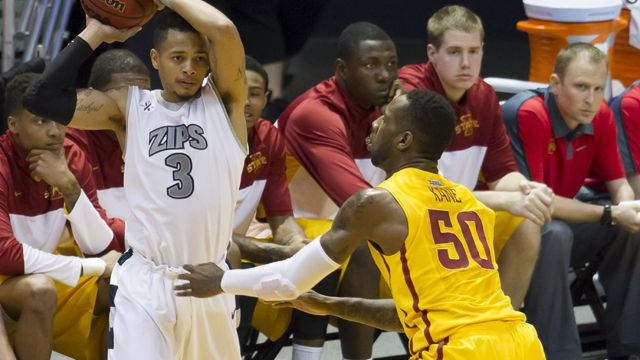 #14 Iowa State vs. Akron (Semifinal #1) : Hawaiian Airlines Diamond Head Classic