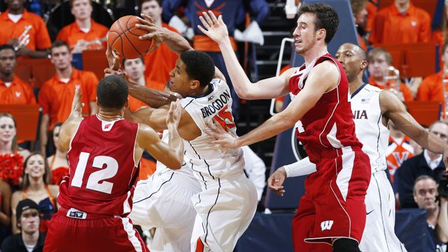 #8 Wisconsin vs. Virginia