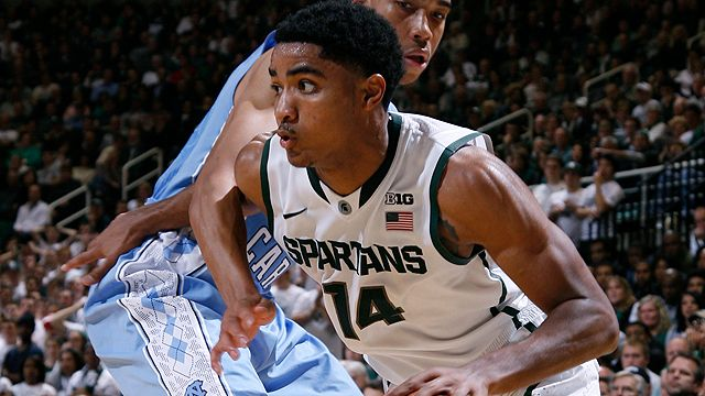 #5 Michigan State vs. Oakland