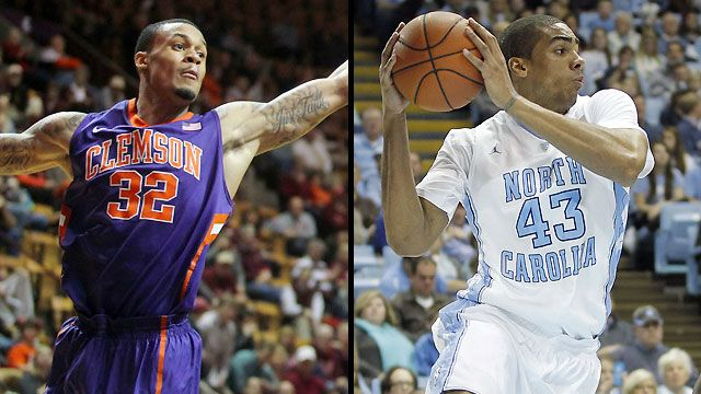 Clemson vs. North Carolina