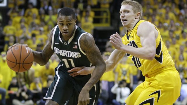 #7 Michigan State vs. #15 Iowa