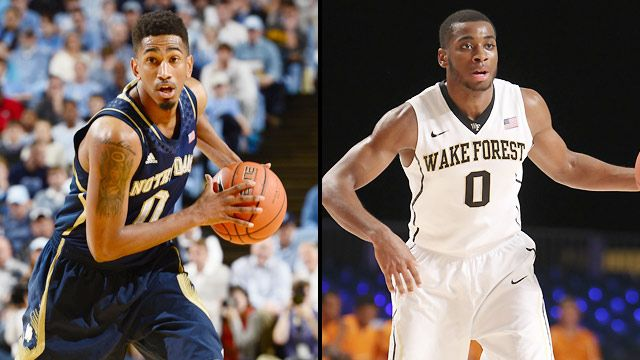 Notre Dame vs. Wake Forest (First Round, Game 1) (ACC Men's Tournament)