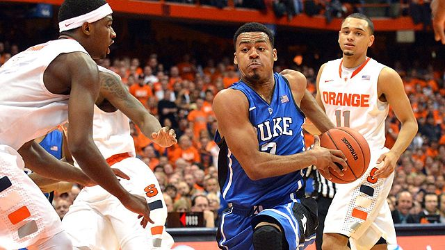 #17 Duke vs. #2 Syracuse