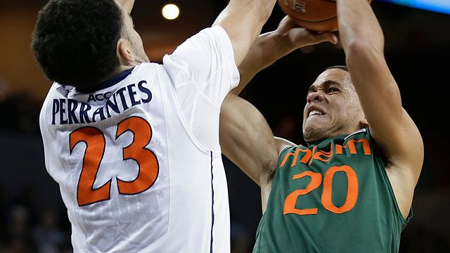 Miami vs. #12 Virginia
