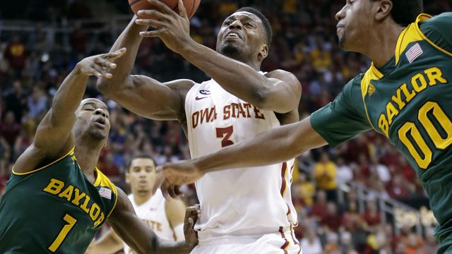 Baylor vs. #16 Iowa State (Championship Game) (Big 12 Men's Championship)