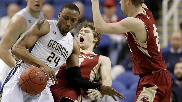 Boston College vs. Georgia Tech (First Round, Game 3) (ACC Men's Tournament)