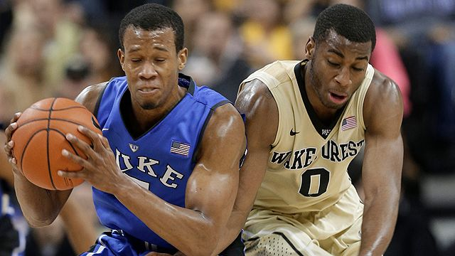 #4 Duke vs. Wake Forest