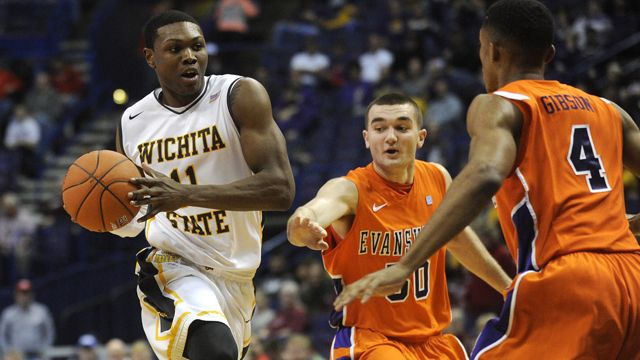 Evansville vs. #2 Wichita State (Quarterfinal #1) (MVC Men's Tournament)