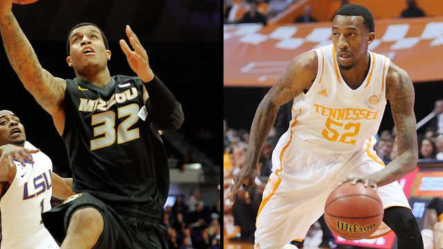 Missouri vs. Tennessee