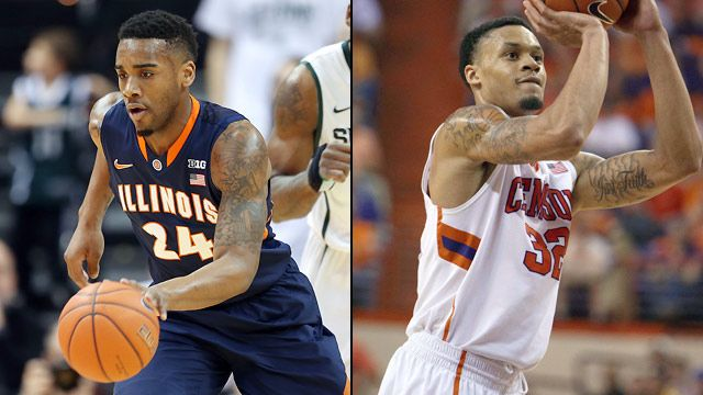 #2 Illinois vs. #3 Clemson (Second Round) (NIT)