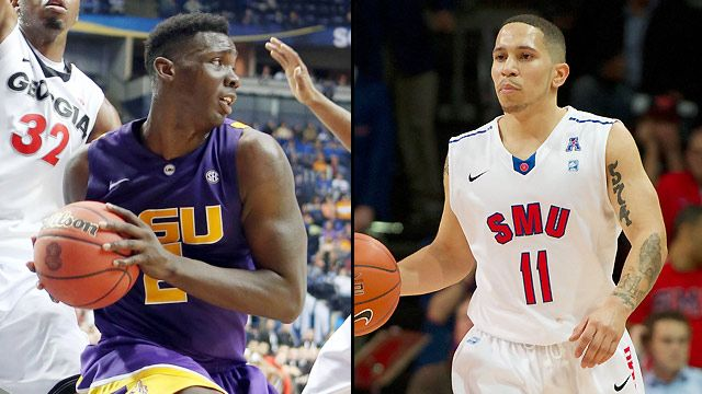 #5 LSU vs. #1 SMU (Second Round) (NIT)