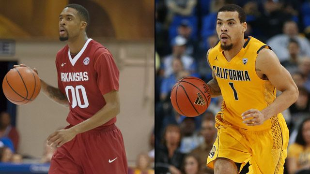 #3 Arkansas vs. #2 California (Second Round) (NIT)
