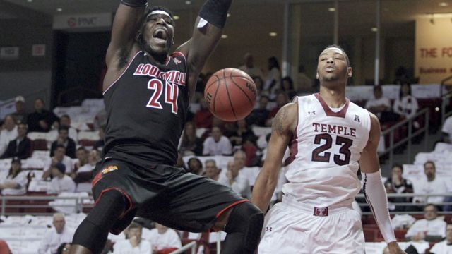 #13 Louisville vs. Temple