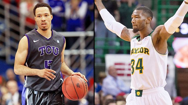 TCU vs. Baylor (First Round, Game 2) (Big 12 Men's Championship)