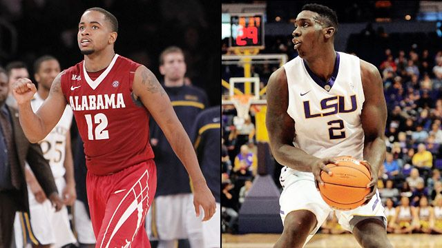Alabama vs. LSU (Game #5) (SEC Men's Tournament)