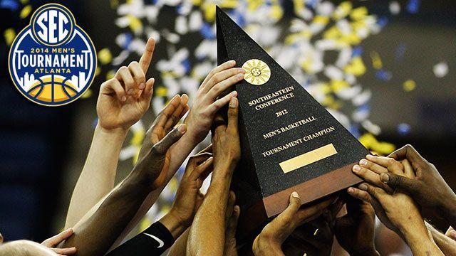SEC Men's Championship Trophy Presentation