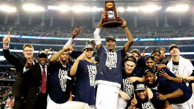UConn Men's Basketball Championship Celebration