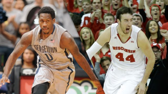 Georgetown vs. #2 Wisconsin (Semifinal #2) (M Basketball)