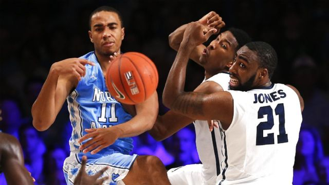 #5 North Carolina vs. Butler (Quarterfinal #1) (M Basketball)