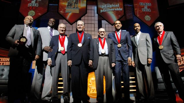 2014 National Collegiate Basketball Hall of Fame Induction