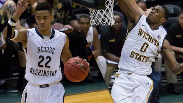 George Washington vs. #11 Wichita State (Championship Game) (M Basketball)