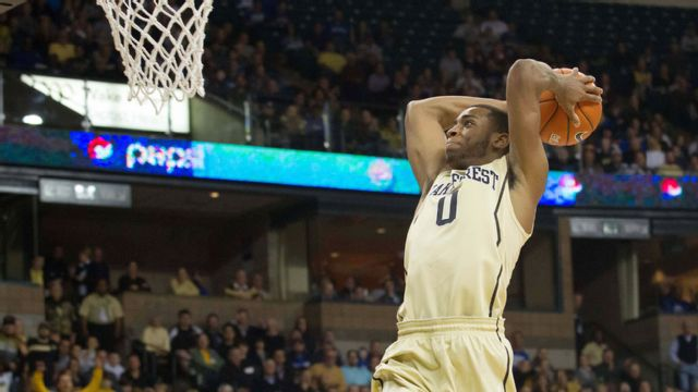 Mount St. Mary's vs. Wake Forest (M Basketball)