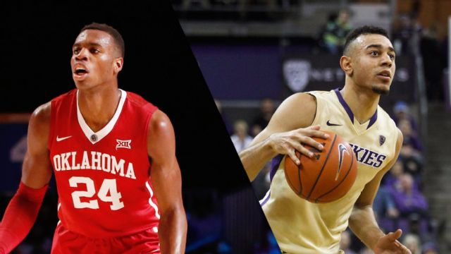 #15 Oklahoma vs. #16 Washington (M Basketball)