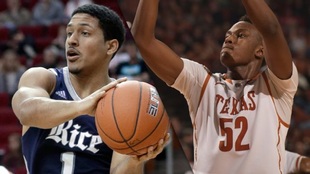 Rice vs. Texas (M Basketball)
