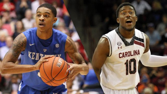 Kentucky vs. South Carolina - 1/24/2015 (re-air)