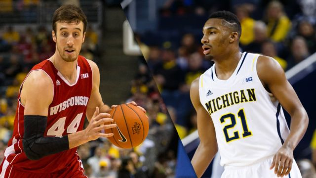 #6 Wisconsin vs. Michigan (M Basketball)