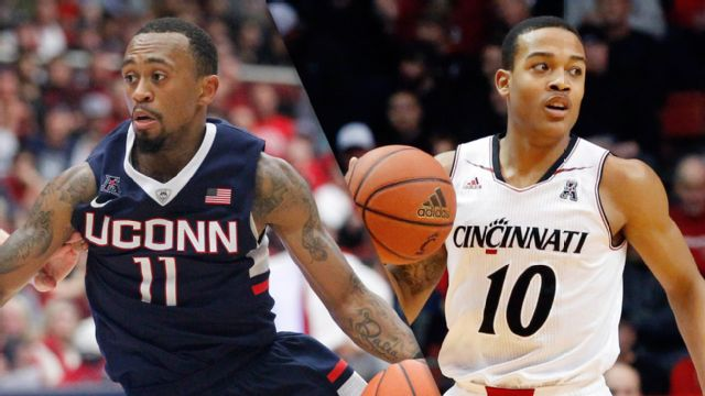 Connecticut vs. Cincinnati (M Basketball) (re-air)