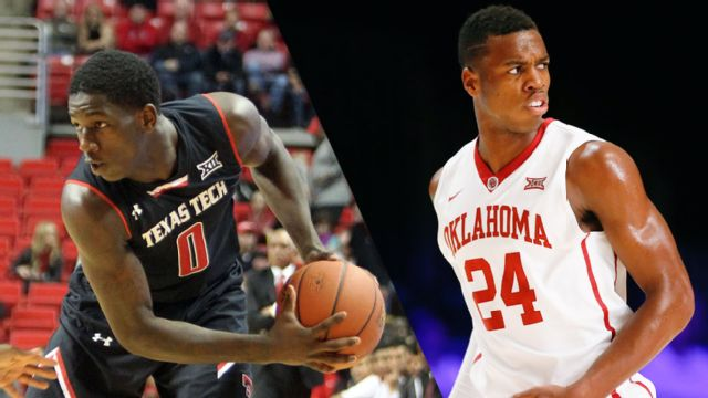 Texas Tech vs. #24 Oklahoma (M Basketball)