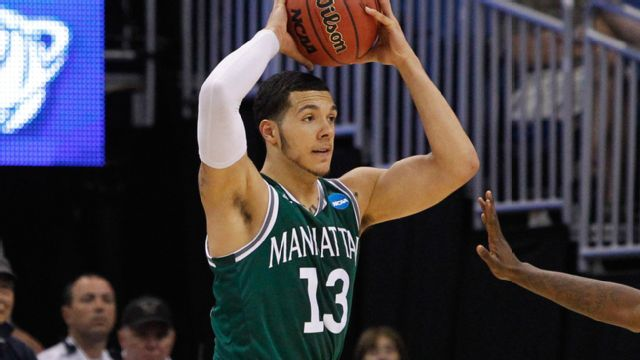 Manhattan vs. Binghamton (Semifinal #1) (M Basketball)