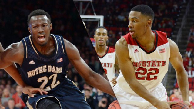 Notre Dame vs. NC State (M Basketball) (re-air)