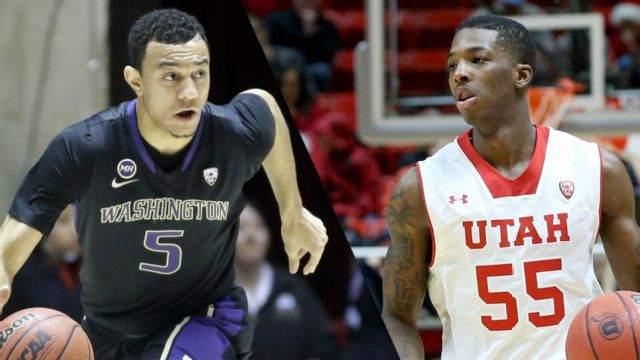 Washington vs. #12 Utah (M Basketball)
