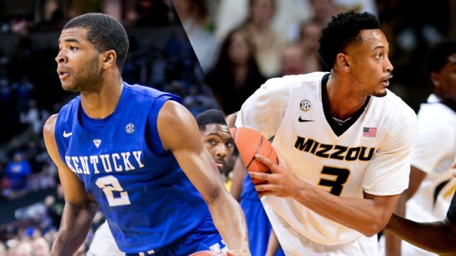 #1 Kentucky vs. Missouri (M Basketball)