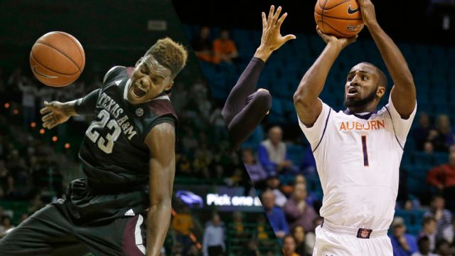 Texas A&M vs. Auburn (M Basketball)