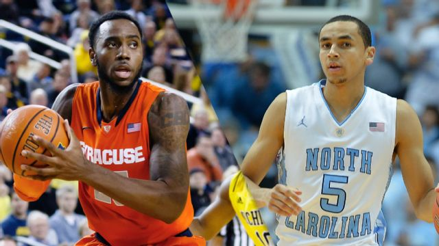 Syracuse vs. #13 North Carolina (M Basketball)
