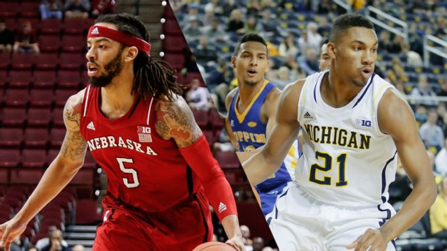 Nebraska vs. Michigan (M Basketball) (re-air)