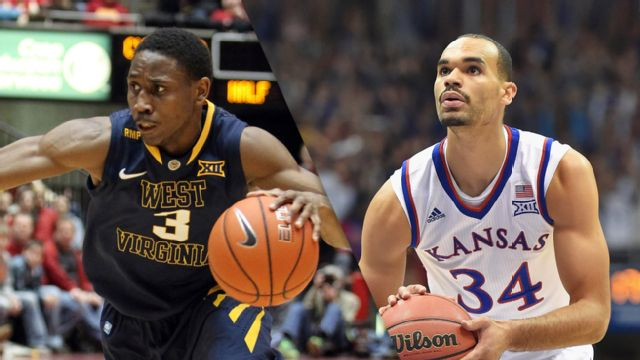 West Virginia vs. Kansas (M Basketball) (re-air)