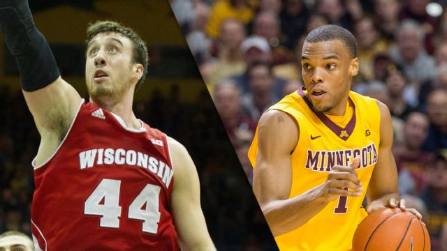 Wisconsin vs. Minnesota (M Basketball) (re-air)