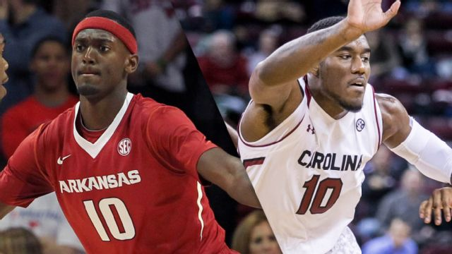 Arkansas vs. South Carolina (M Basketball) (re-air)