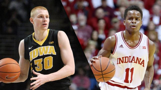 Iowa vs. Indiana (M Basketball)