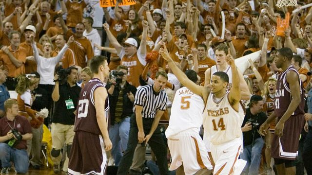 #7 Texas A&M vs. #15 Texas - 2/28/2007 (re-air)