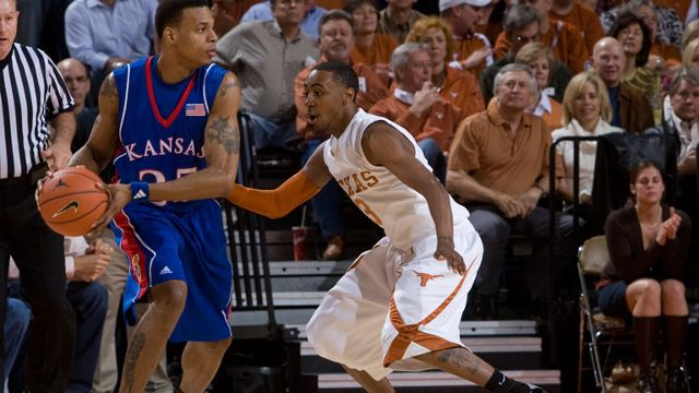 #3 Kansas vs. #11 Texas - 11/2/2008 (re-air)