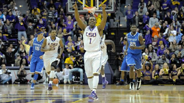 #11 Kentucky vs. LSU - 1/28/2014 (re-air)