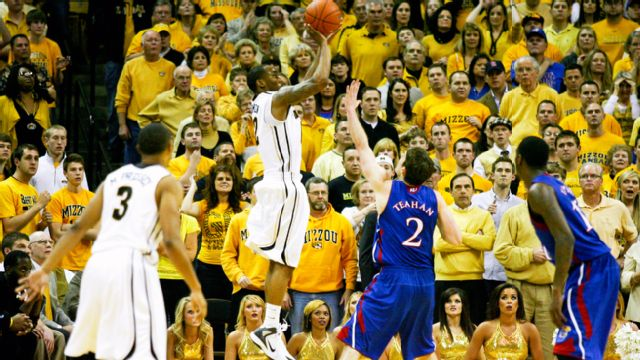 #8 Kansas vs. #4 Missouri - 2/4/2012 (re-air)